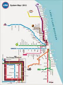 Chicago Metro Map by Chicago Transit Map Free Printable Maps