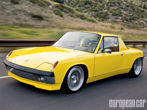 porsche 914 yellow love for the poor man s porsche retro rides