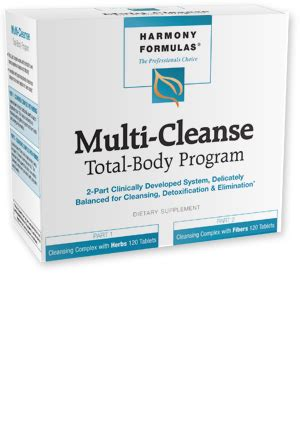 Harmony Formulas Colon Cleanse And Detox by Multi Cleanse Harmony Formulas