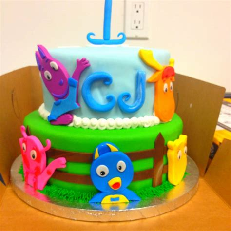 Backyardigans Cake Backyardigans Cake Backyardigans Birthday