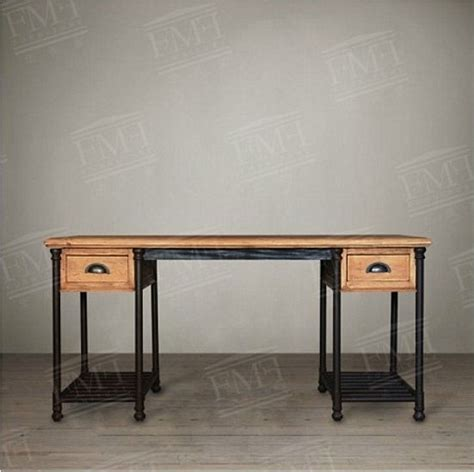 rustic wood desk desk desk loft loft style wrought
