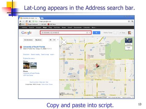 Lat Address Lookup Ppt Using The Maps Api Powerpoint Presentation Id 5413760