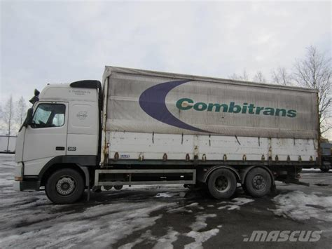 curtain truck used volvo fh 12 6x2 4800 curtain side trucks year 1997