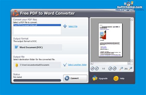 convert pdf to word in c download free pdf to word converter 5 1 0 383 review