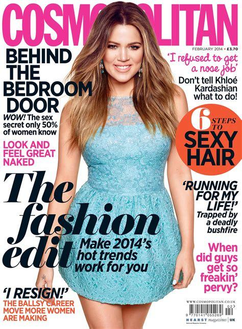 Khloe Kardashian Cosmopolitan Magazine Cover Uk 2014 Best Magazine Uk
