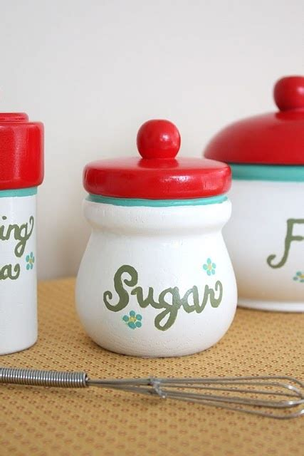 colorful kitchen canisters 1000 images about canisters old or new on pinterest