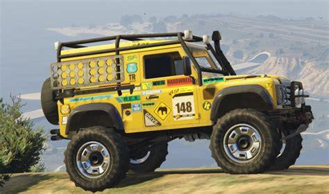range rover defender 1990 gta 5 1990 land rover defender mod gtainside com