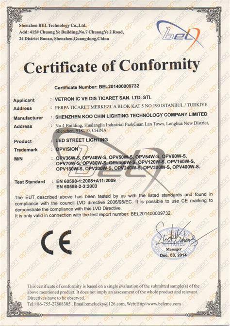 sertifikalar ve kalite belgeleri