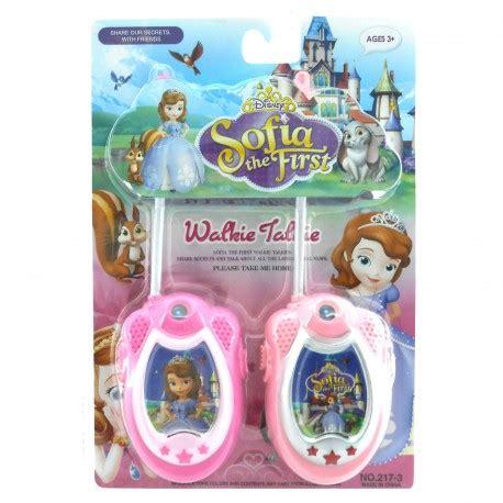 Walkie Talkie Princess Mainan Anak Cewek sofia the walkie talkie happy toko mainan jual mainan anak