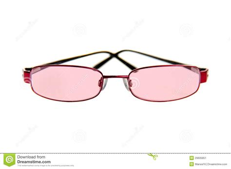 tinted image pink tinted glasses stock image image of isolat health