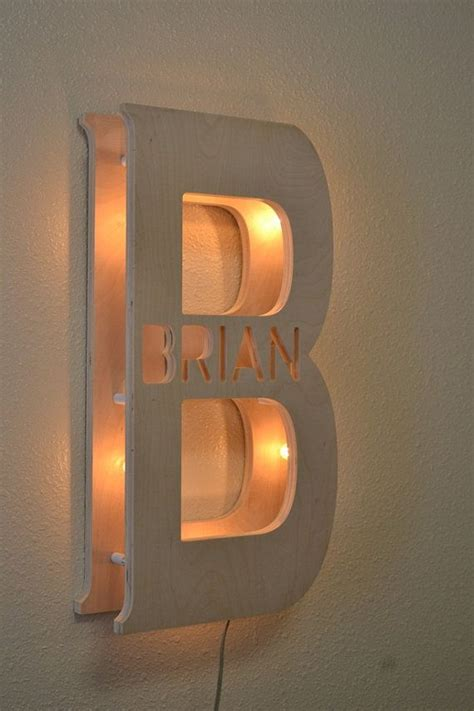 personalized family  sign marquee lights kids bedroom