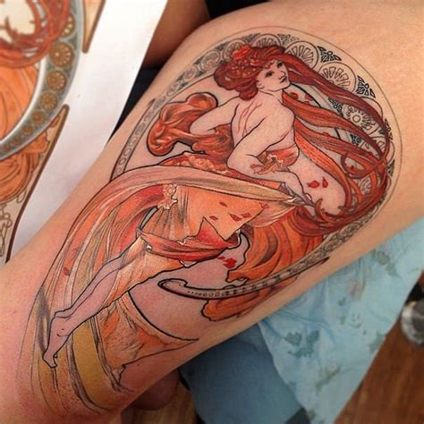 pin up girl tattoo designs were a popular subject in deco designs which is