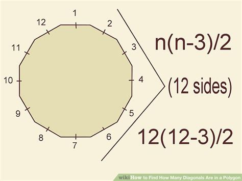 Find How Many Your Name How To Find How Many Diagonals Are In A Polygon 11 Steps