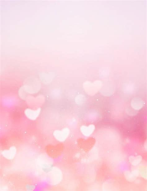 pink bokeh hearts abstract backdrop  wedding