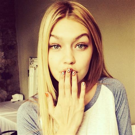 gigi hadid on instagram fashion face off gigi hadid vs kendall jenner branding