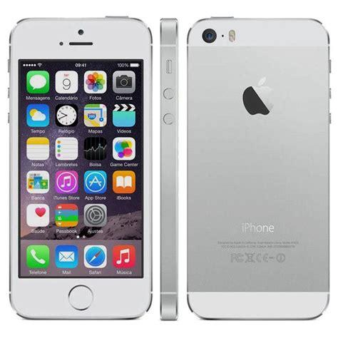 e iphone 5s iphone 5s 16gb anatel lacrado preto e branco ate 12x r 1 599 00 em mercado livre