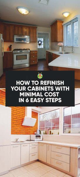 how to refinish your cabinets how to refinish your cabinets with minimal cost in 6 easy
