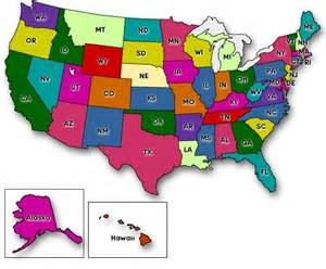 united states map by states in color united states map in color free coloring pages on