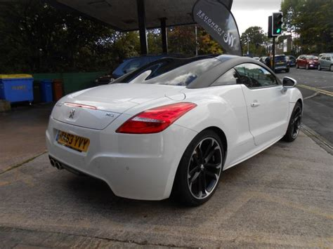 peugeot rcz r 0 60 used peugeot rcz 2 0 hdi gt 2dr for sale in stockport