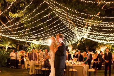 string lights for weddings jardines para bodas al aire libre y su decoraci 243 n