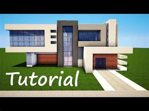 minecraft tutorial modern interior house design how to minecraft easy modern house mansion tutorial 4