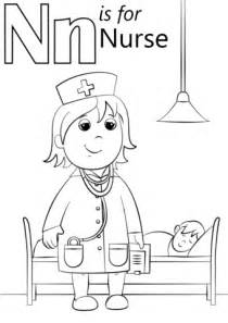nurse coloring free printable coloring pages