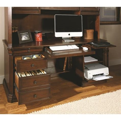 furniture cherry creek computer desk with hutch in