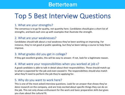 sample situational and behavioral interview questions more