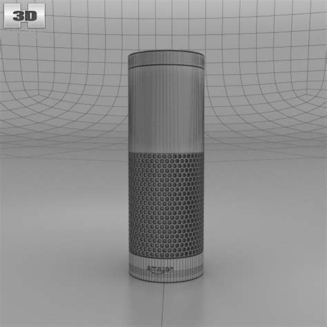 3d amazon amazon echo 3d model hum3d