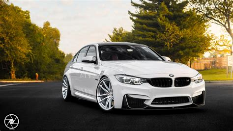 custom white bmw white bmw m3 looks elegant on brushed clear custom wheels