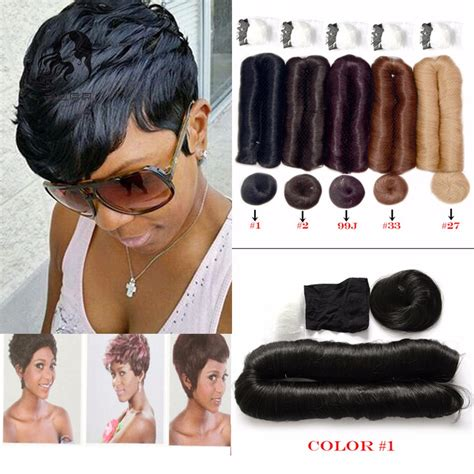 bob cut with bump hair brazilian virgin hair 27 pieces short hair weave with free