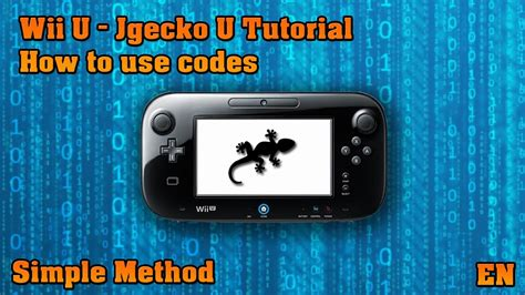 tutorial hack wii u wii u tutorial patched how to use cheat codes youtube
