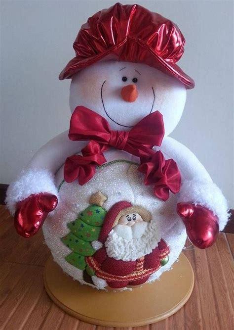 muecos de navidad en foami nieve lara mu 241 ecos pinterest noel