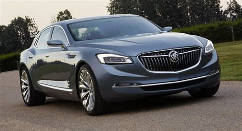 buick avenir is a beautiful concept for a flagship sedan