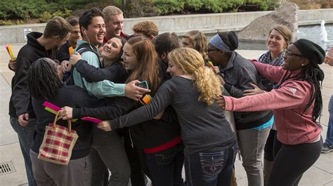 free hug guy free hugs experiment breaks social norms nebraska today