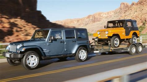 jeep hauling trailer jeep wrangler jk 2007 to 2015 towing and hauling general