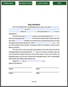 balloon note free fillable pdf forms free fillable pdf