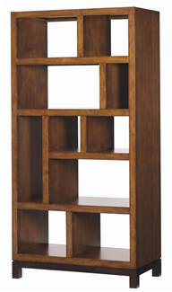 open shelves bookcases bahama home club tradewinds open back bookcase