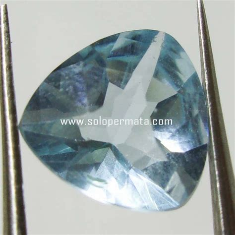 Batu Akik Permata Blue Topas A002 batu permata blue topaz 15k02 toko batu akik