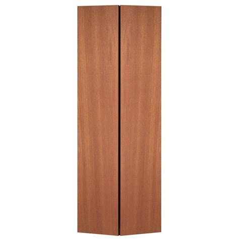 36 Inch Bifold Closet Doors Masonite 36 In X 80 In Smooth Flush Hardwood Hollow Unfinished Composite Interior Closet