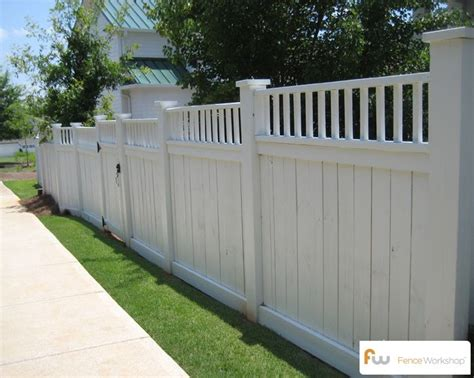 white privacy fence privacy fence