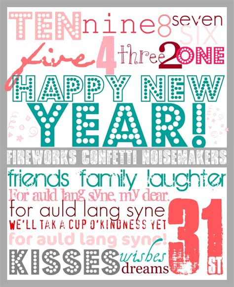 new year printables 27 new year day activities and ideas tip junkie
