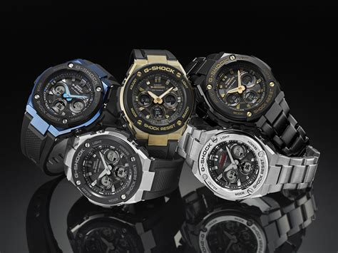 g shock introduces all new mid size g steel collection