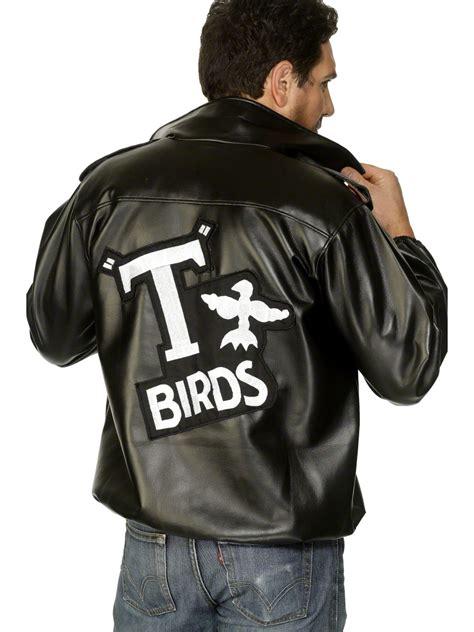 mens t bird grease jacket mens grease t bird jacket 27488 fancy dress