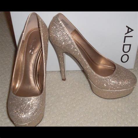 Aldo Glitter 81 aldo shoes aldo gold glitter heels from