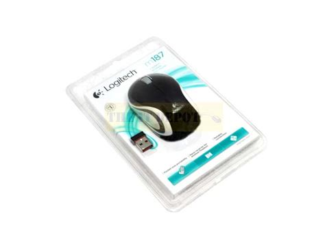 Mouse M187 buy logitech wireless mini mouse m187 black lowest price in india at www theitdepot