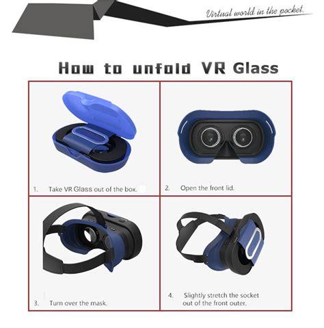 Vb16 Mini Vr Box Reality Cardboard For Smartphone vb16 mini vr box reality cardboard for smartphone black jakartanotebook