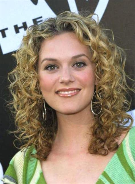 hairstyles curly hair thin face thin curly hair oval face short curly hair