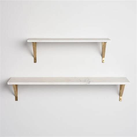 Marble Wall Shelf by Marble Mix Match Wall Shelf Collection World Market