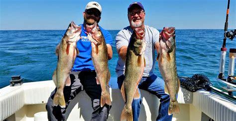 charter boat fishing lake erie lake erie walleye fishing charter